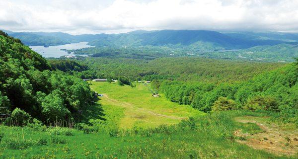 裏磐梯スキー場リフト終点